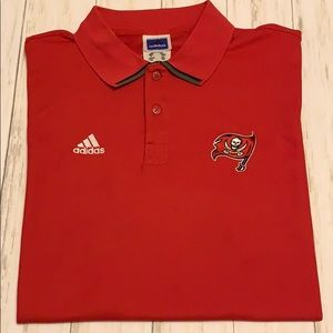 Tampa Bay Buccaneers 🏴‍☠️ Polo. Adidas. Size XL.